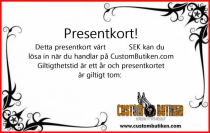 Presentkort CustomButiken