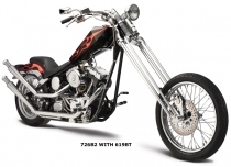 Softail Upswept Shotgun