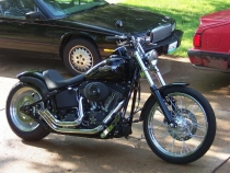 Skirt Blower Softail