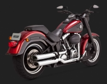 V&H Twin Slash EC Softail